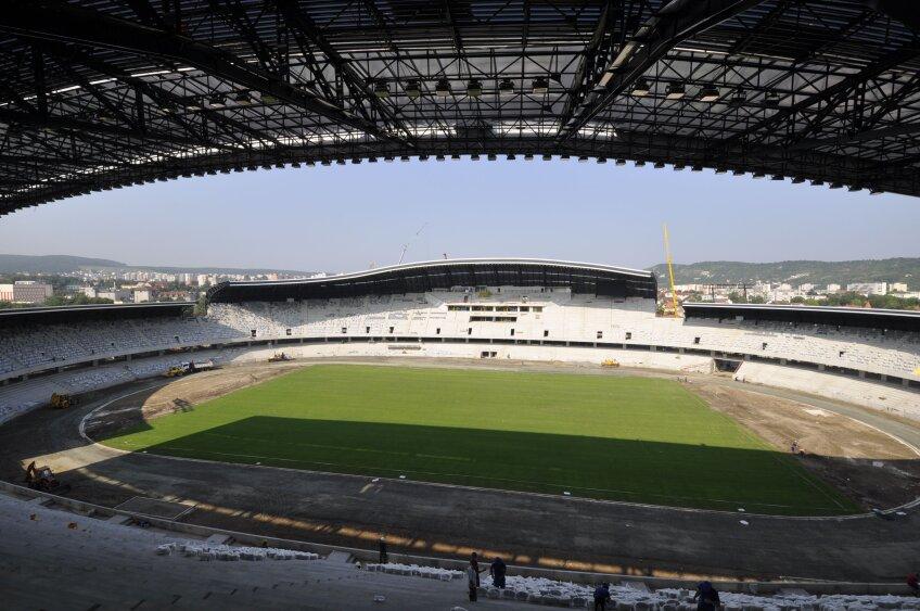 Stadionul din Cluj va fi inaugurat la mijlocul acestei luni
