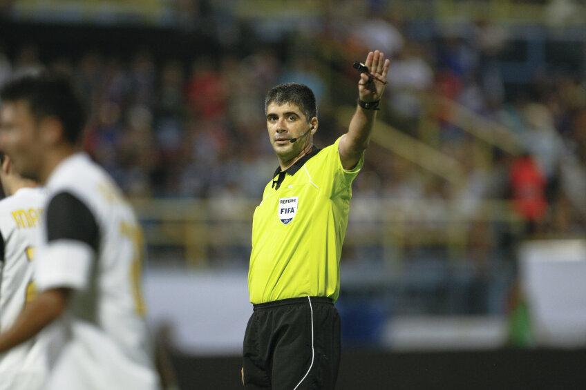 Alexandru Deaconu va arbitra dervy-ul ligii secunde, Bistrița - Timișoara
