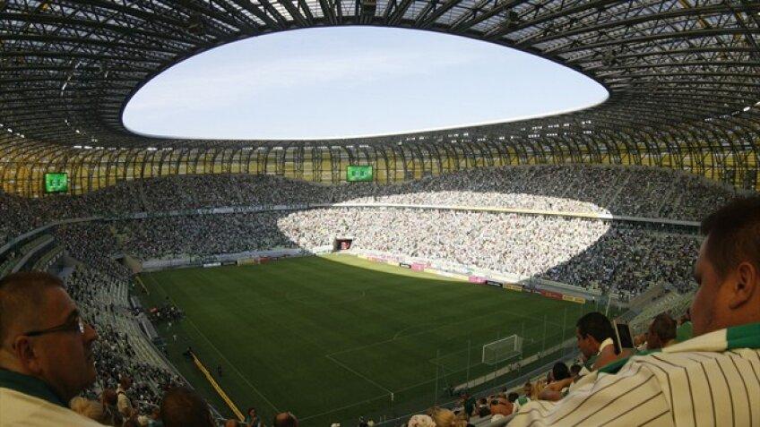 Stadionul din Gdansk a primit aseara 45.000 de spectatori, la amicalul Polonia - Germania 2-2