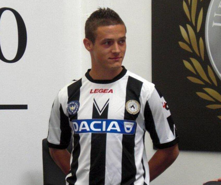 Torje a fost prezentat la Udinese