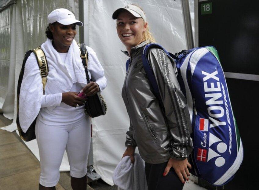 Serena Williams şi Caroline Wozniacki se întîlnesc în semifinale la US Open