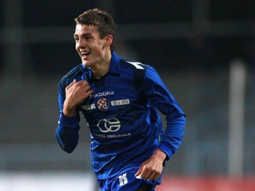 Mateo Kovacici are două goluri marcate în tricoul lui Dinamo Zagreb