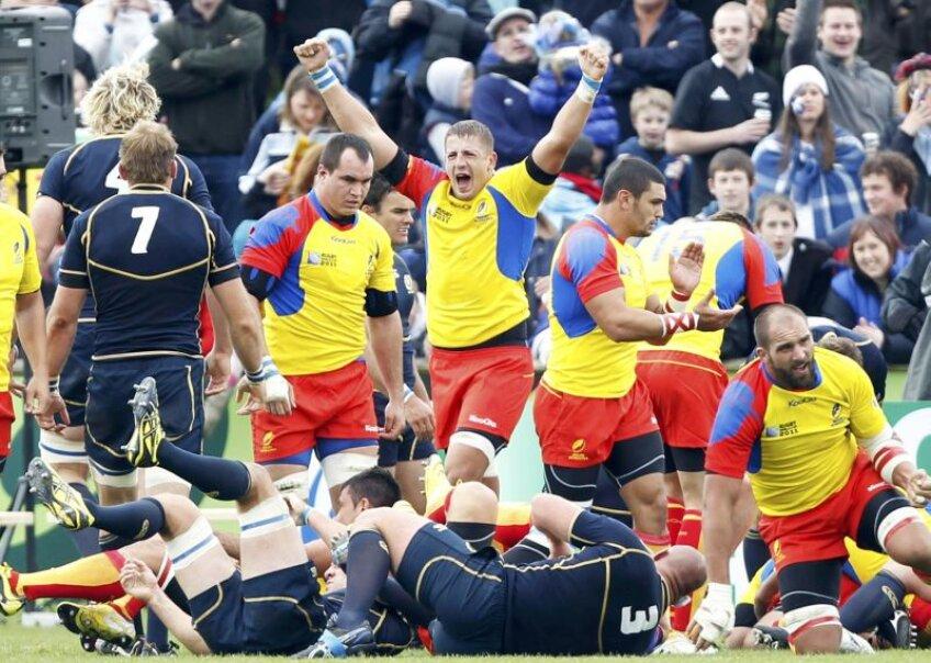 România a fost la 10 minute de o victorie istorică la Cupa Mondială de Rugby