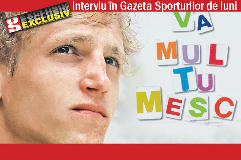 Mihai Neşu le mulţumeşte tuturor românilor prin intermediul interviului pe care l-a acordat Gazetei Sporturilor