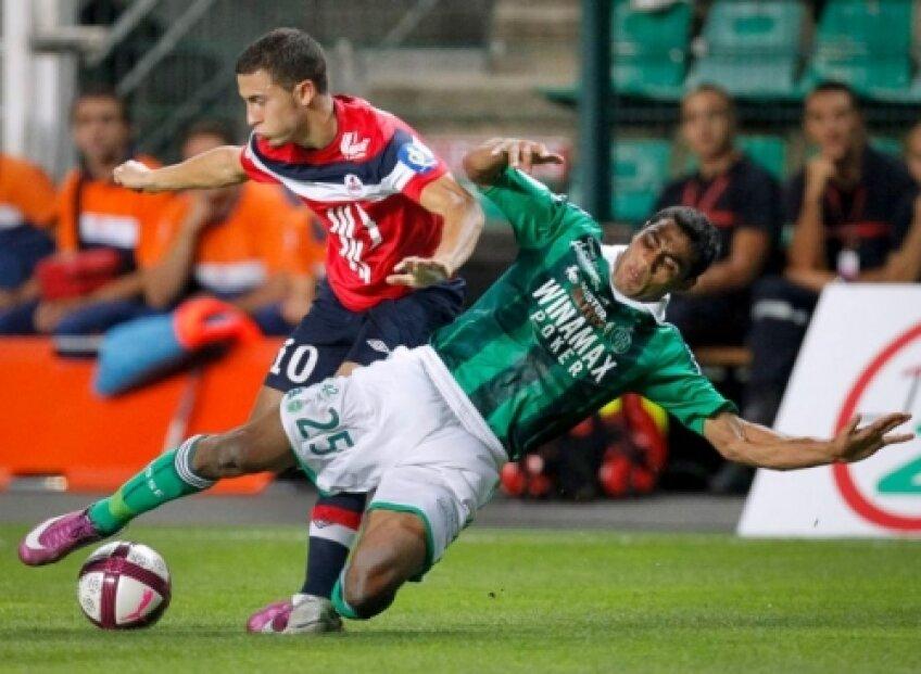 Nicoliţă a evoluat 45 de minute cu Lille (1-3)