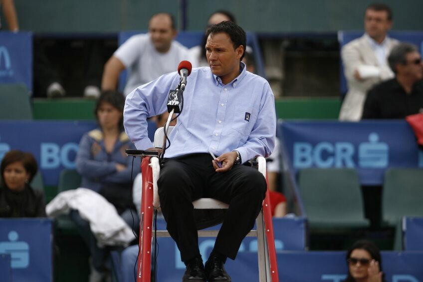 Mohamed Lahyani, unul dintre arbitrii de top, care au fost şi la Bucureşti nu a mers în acest an la US Open