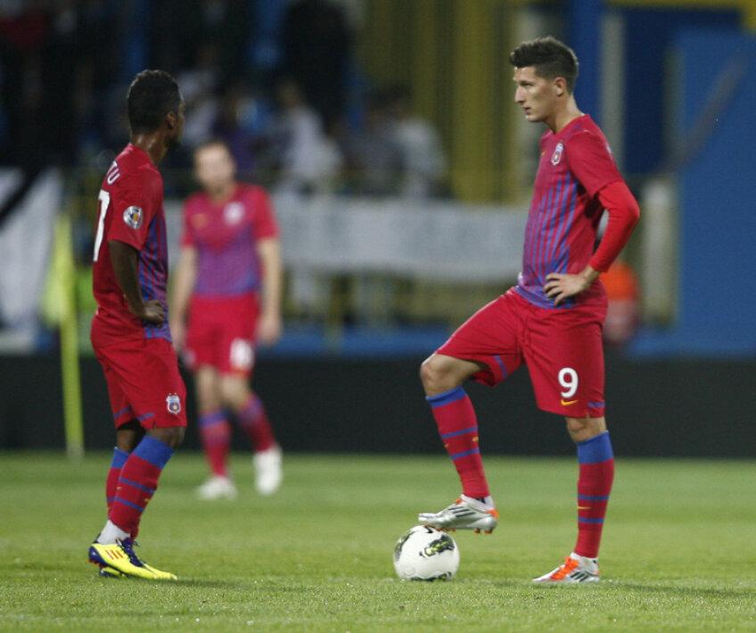 Steaua a pierdut fără drept de apel la Mediaş, scor 0-3