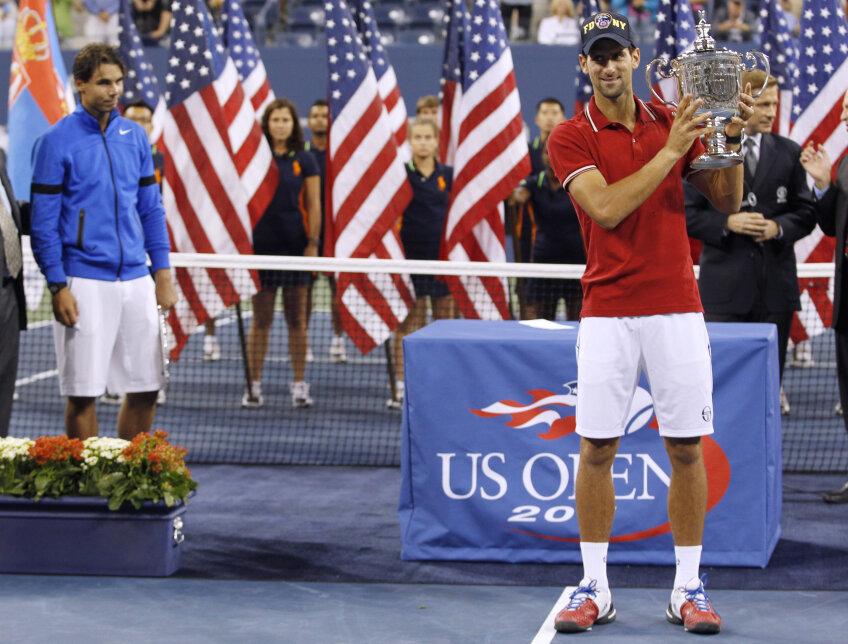 Novak Djokovici a cîștigat turneul de Grand Slam de la US Open. foto: reuters