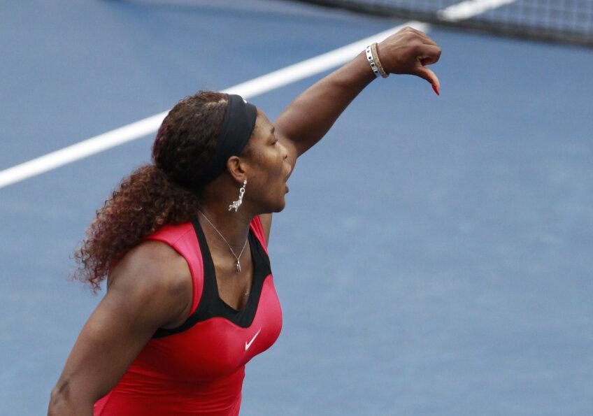 Serena Williams a fost amendată pentru incidentul de la US Open foto: reuters