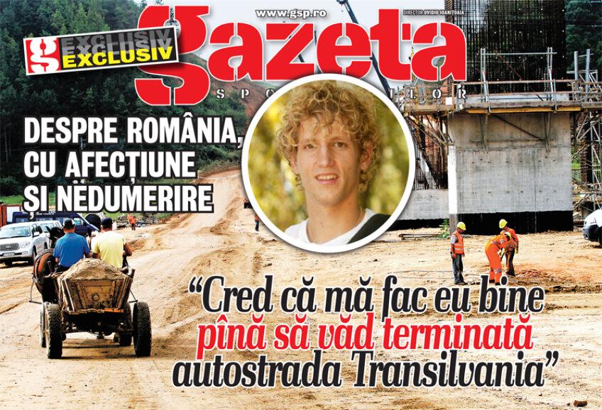 Mihai Neşu surprinde în continuare. Cea de-a treia parte a interviului care apare în Gazetă este despre gîndurile sale legate de România