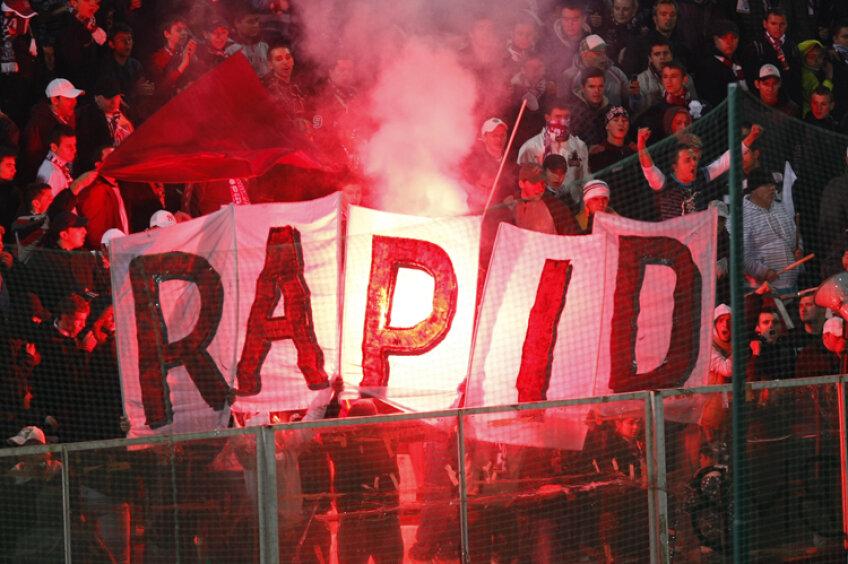 Fost jucător la Rapid: