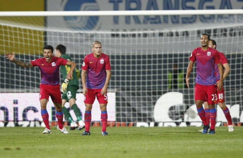 Steaua va încerca diseară să-şi blocheze adversarul cu o tactică similară celei de la 1-1 în deplasare, cu ŢSKA Sofia