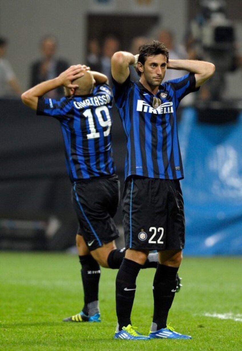 Inter a pierdut meciul de pe teren propriu cu Trabzonspor