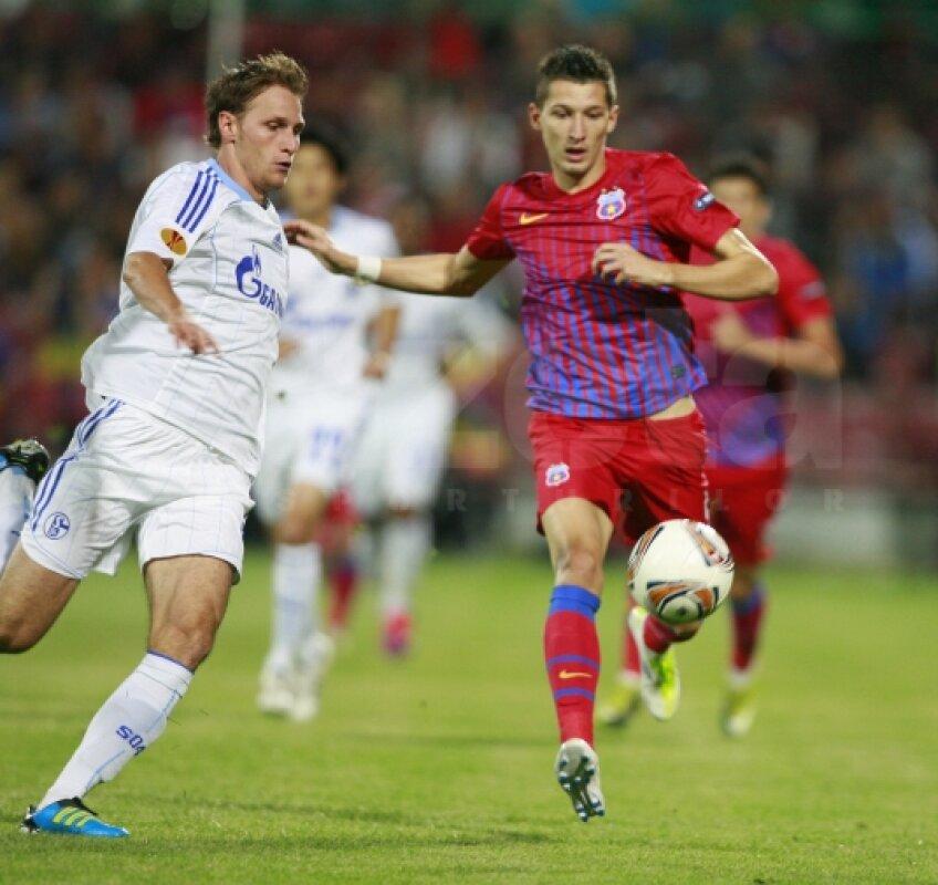 Lui Mihai Costea nu i-a ieşit mai nimic contra lui Schalke