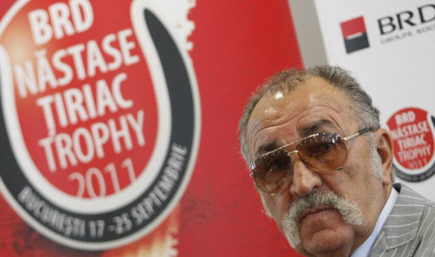 Ion Ţiriac a participat la tragerea tabloului principal la BRD Năstase-Ţiriac