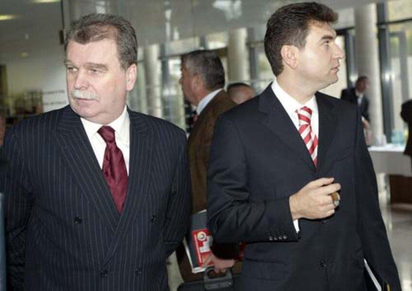 Gheorghe şi Borcea au fost mereu rivali, deşi actualul preşedinte al Rapidului a simpatizat înainte cu Dinamo