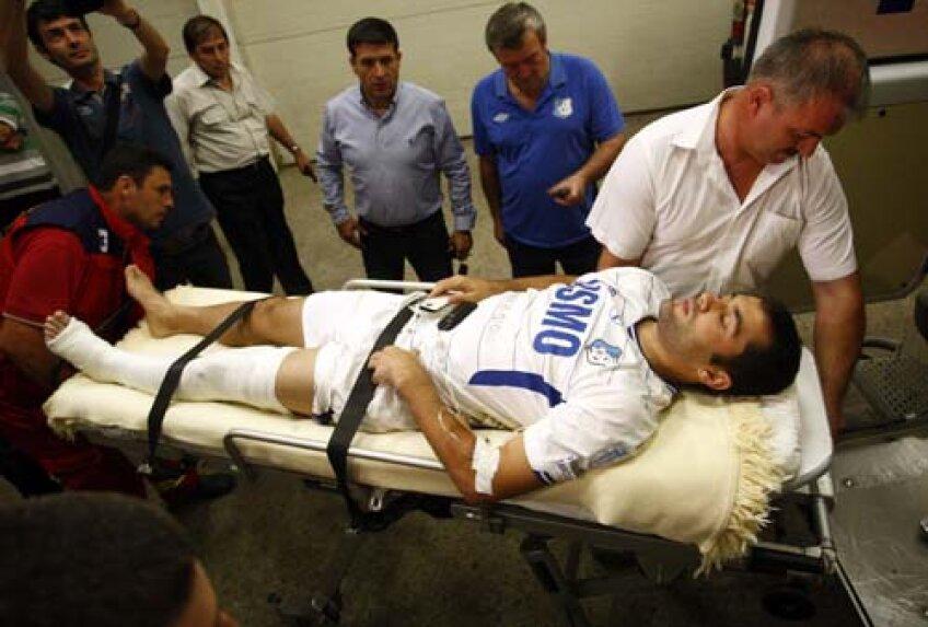 Cum a ajuns la spital, Băcilă a fost trecut pe calmante