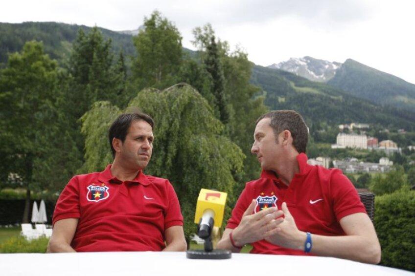 Ronny Levy şi Mihai Stoica