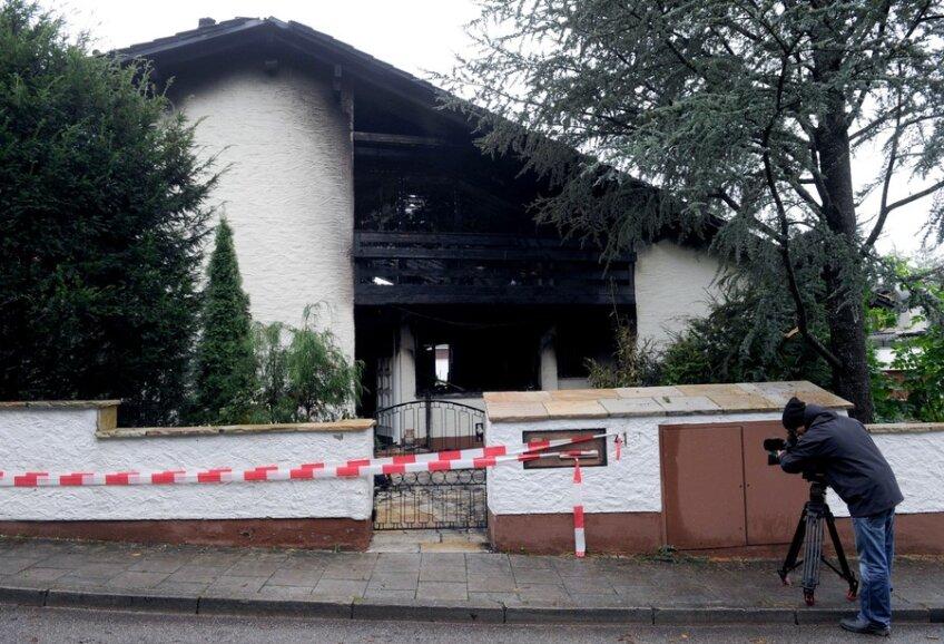 Aşa arăta locuinţa lui Breno după incendiu (foto: daylife.com)
