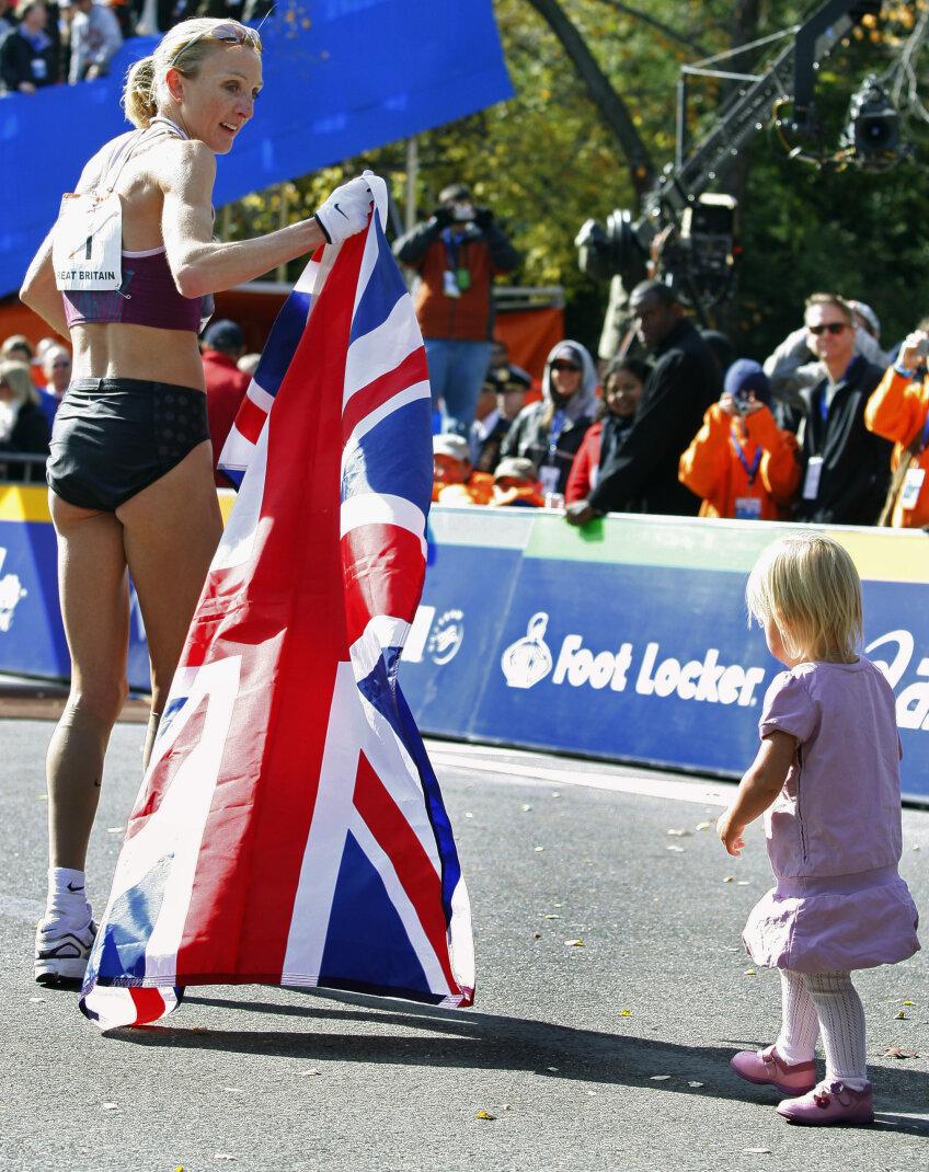 Paula Radcliffe rămîne deținătoarea celui mai bun timp la maraton  foto: reuters