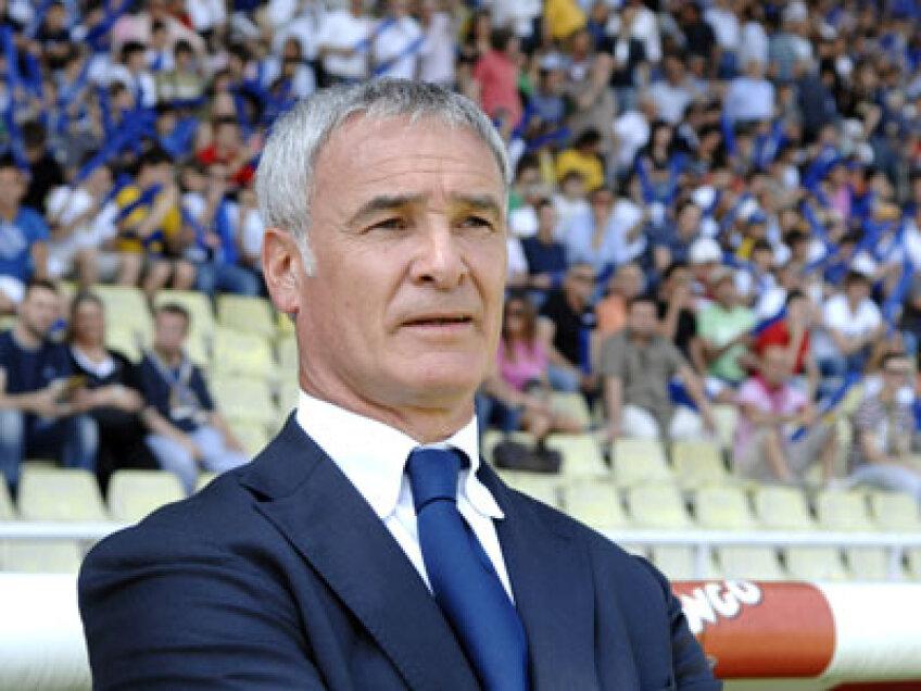 Claudio Ranieri a pregătit-o pe AS Roma pînă în vara acestui an