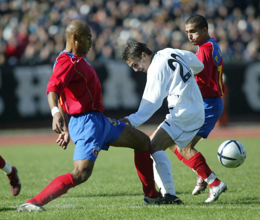 În 2004, Steaua a fost eliminată de