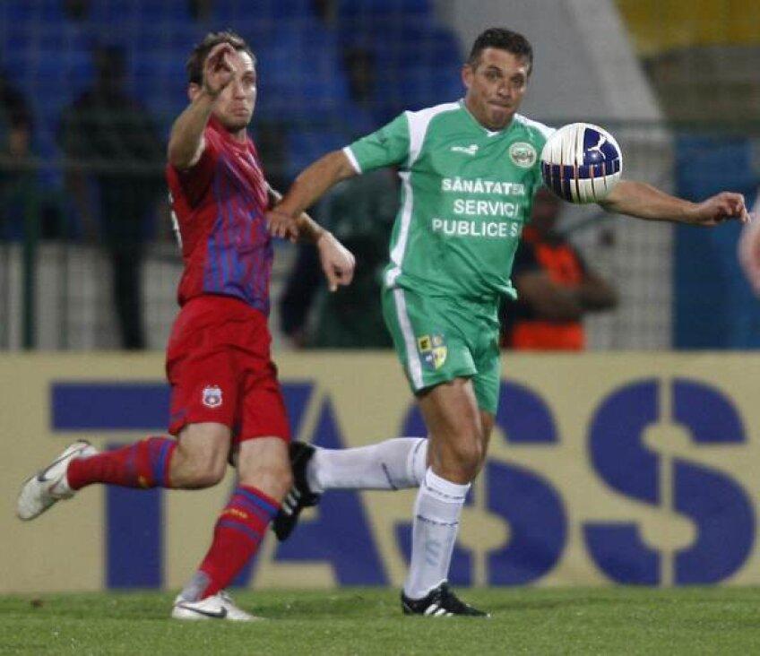 Augustin Ghișa a jucat mai bine de 15 minute împotriva Stelei, și s-a descurcat admirabil la cei 47 de ani