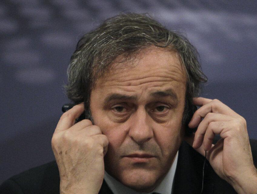 Michel Platini a stabilit pedepsele pentru cei care nu vor respecta planul săi legat de fair-playul financiar