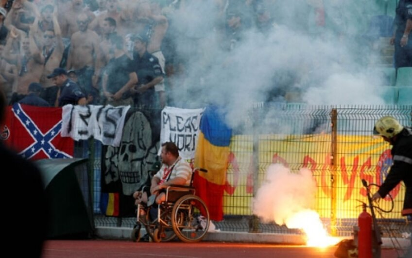 Steaua s-a temut de o suspendare după meciul cu TSKA