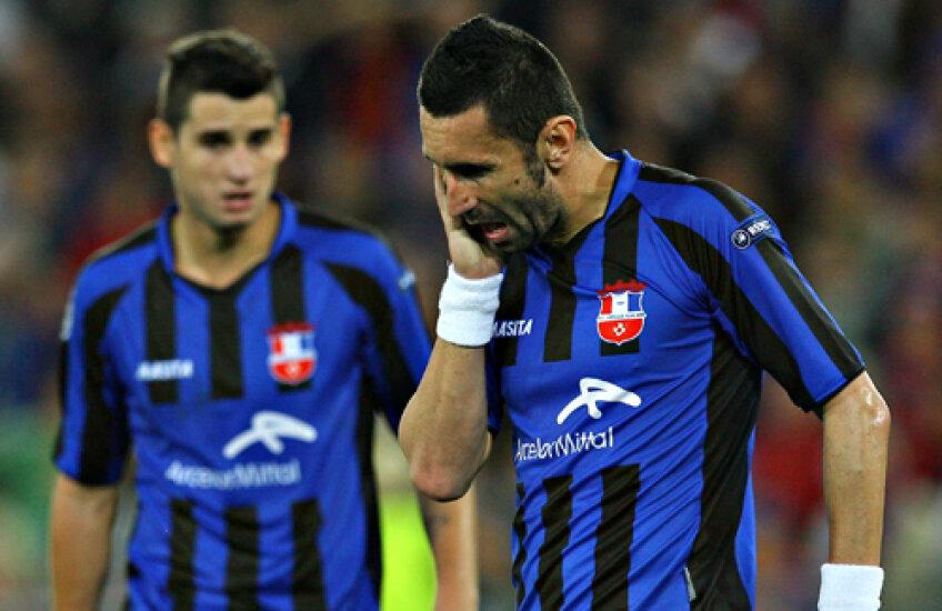 Paraschiv nu a reuşit să fie decisiv şi în meciul cu Mioveni