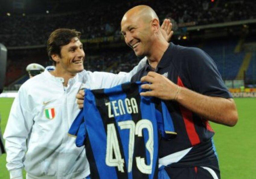 Zenga a sperat ca Moratti să-l aleagă pe el şi să devină antrenorul lui Javier Zanetti