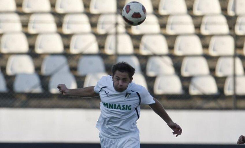 3 meciuri a evoluat Rațiu sezonul acesta din Liga întîi și doar 2 ca titular, cu CFR și cu Mioveniul
