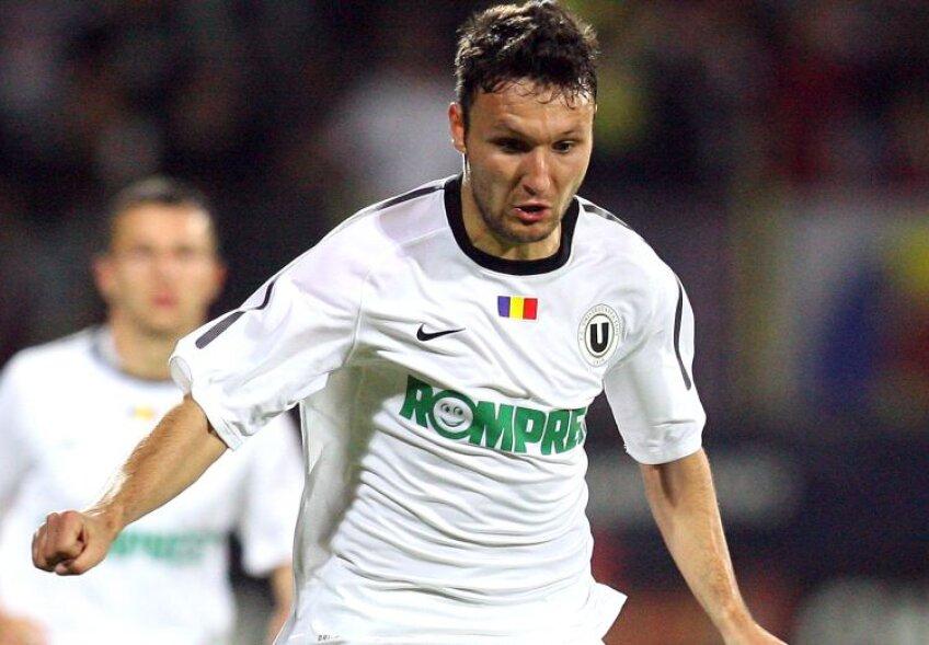 Cojocnean a marcat primul său gol în acest sezon. foto Agerpres