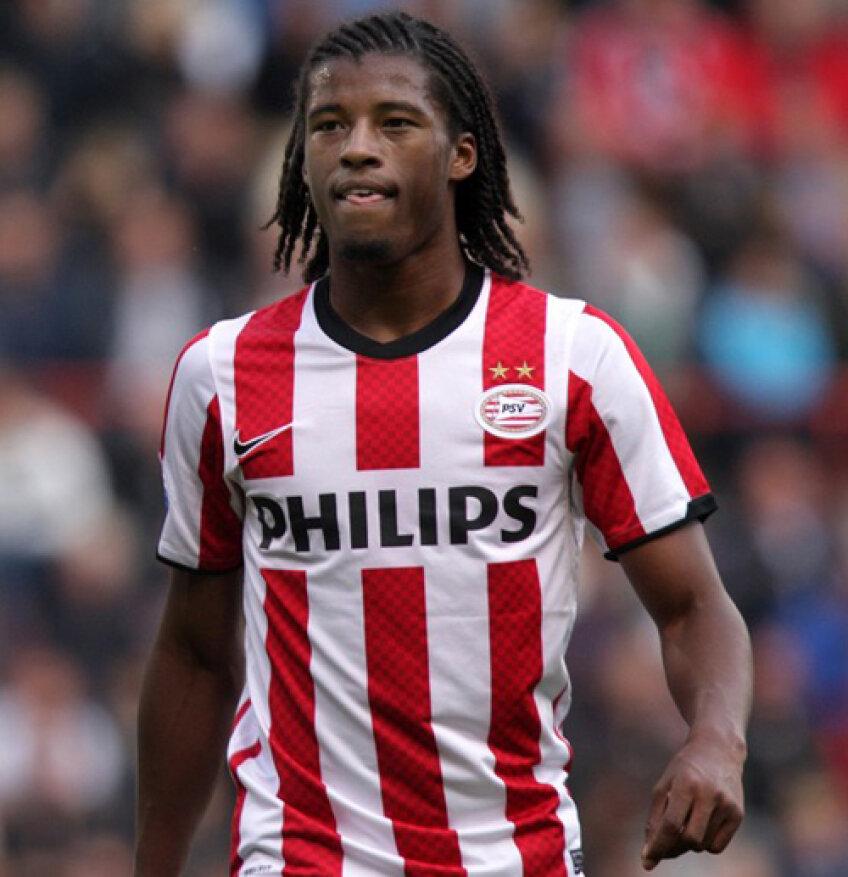 Georginio Wijnaldum a ratat un penalty pentru PSV în jocul cu Roda