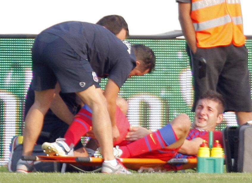 Galamaz a devenit incert pentru meciul cu AEK Larnaca