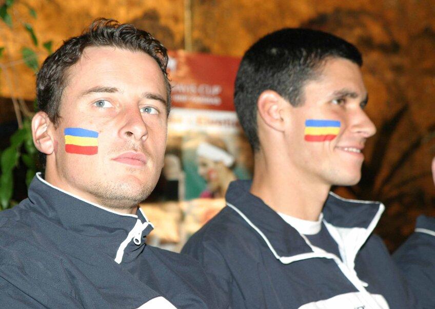 Andrei Pavel şi Victor Hănescu