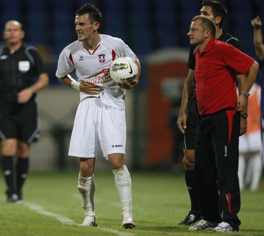 Adrian Sălăgeanu nu poate evolua în această seară