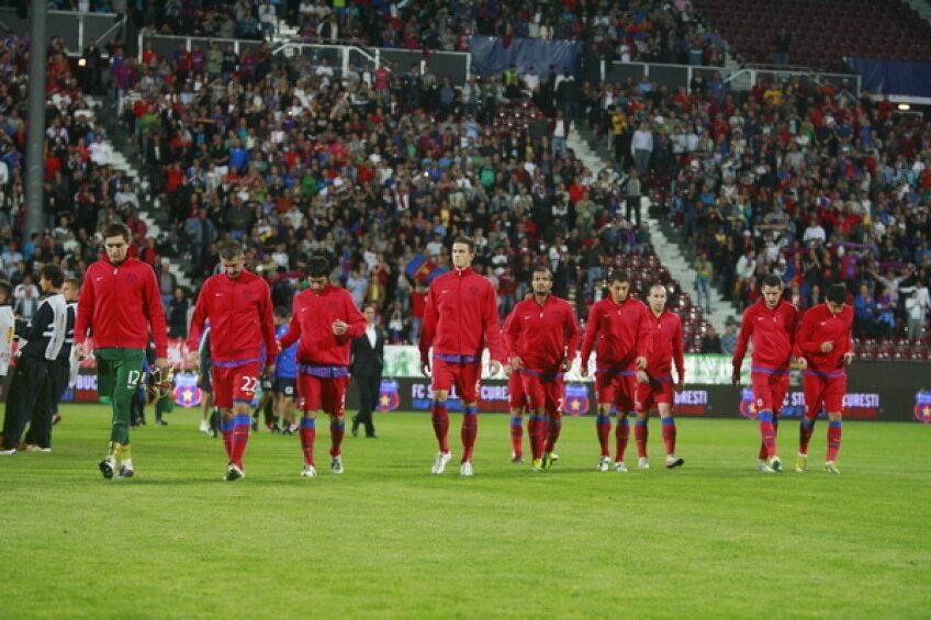 Steaua a avut 23.000 de spectatori în cele două meciuri disputate în Gruia