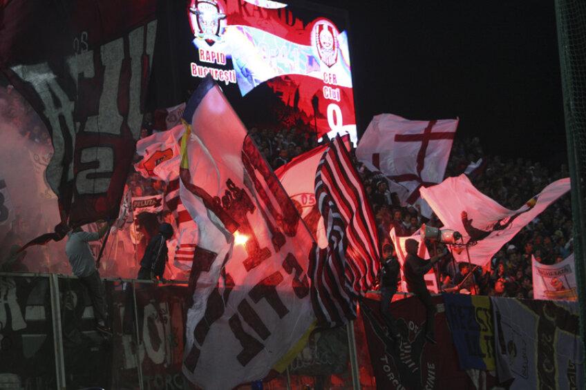Rapidiştii pregătesc un adevărat infern pe Naţional Arena. Coregrafie specială cu PSV!