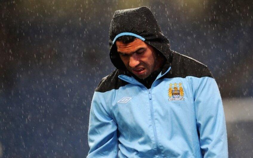 S-au încins spiritele la City. Tevez OUT de la Manchester