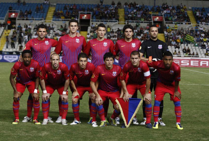 Steaua a terminat la egalitate, scor 1-1, meciul de la Larnaca