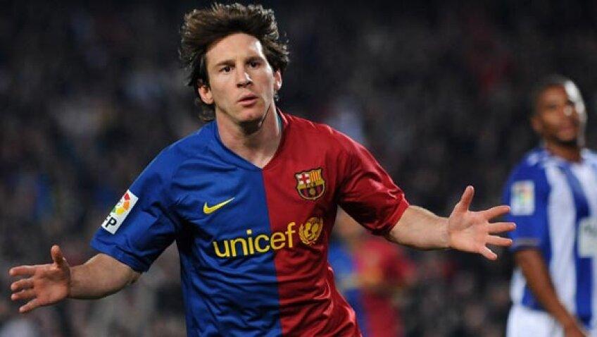 Lionel Messi este cel mai tare fotbalist de pe Pămînt în acest an, fiind deţinătorul ultimelor două Baloane de Aur