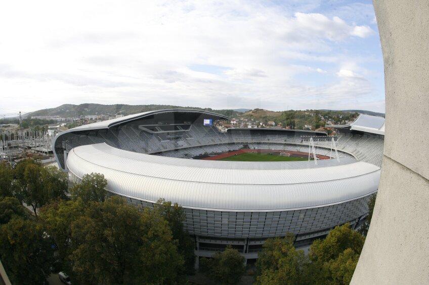 Imagini de la Cluj Arena (30.09.2011)