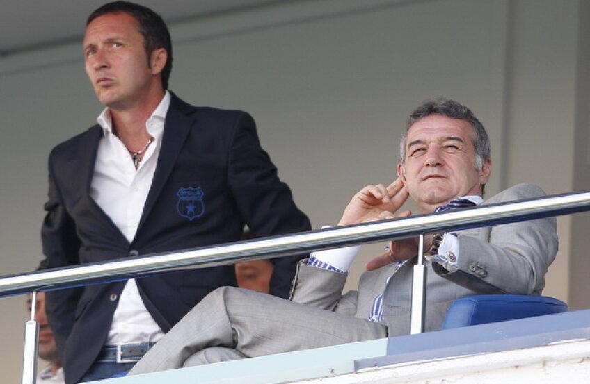 Gigi Becali spune că Mihai Stoica i-a ascuns faptul că Levy nu ştie romîneşte