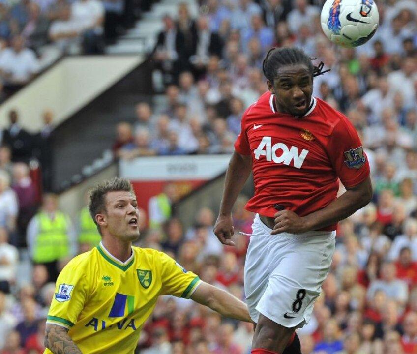 Anderson a marcat cu capul și a deschis drumul spre victoria lui United Explicație. Foto: Reuters