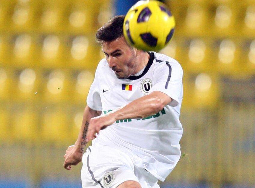 Adrian Cristea a făcut cel mai bun joc din acest campionat, după cîteva etape mai slabe. FOTO Mediafax