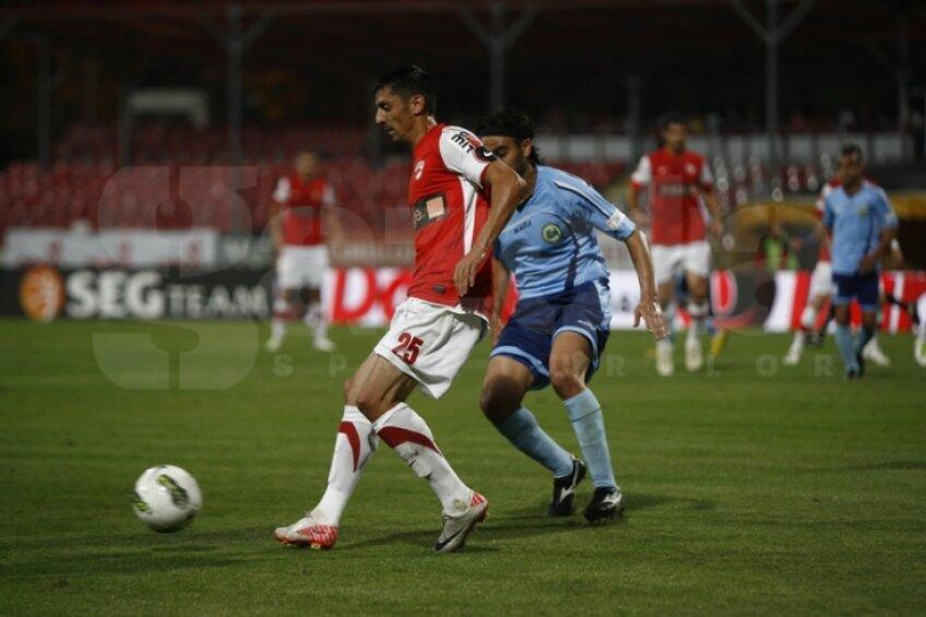 Dănciulescu a marcat pentu 1-0 pentru Dinamo în victoria contra Concordiei
