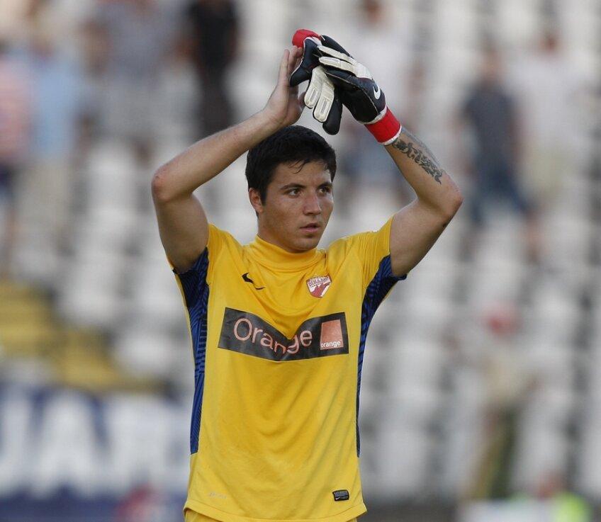 Bălgradean a adunat pînă acum 26 de meciuri la Dinamo