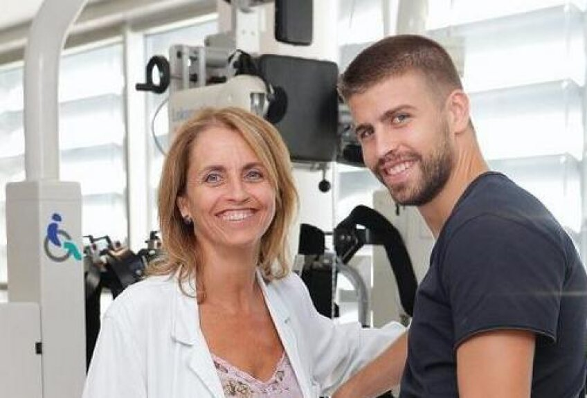 Gerard Pique i-a luat un interviu mamei sale (sursa foto: saludymedicina.org)