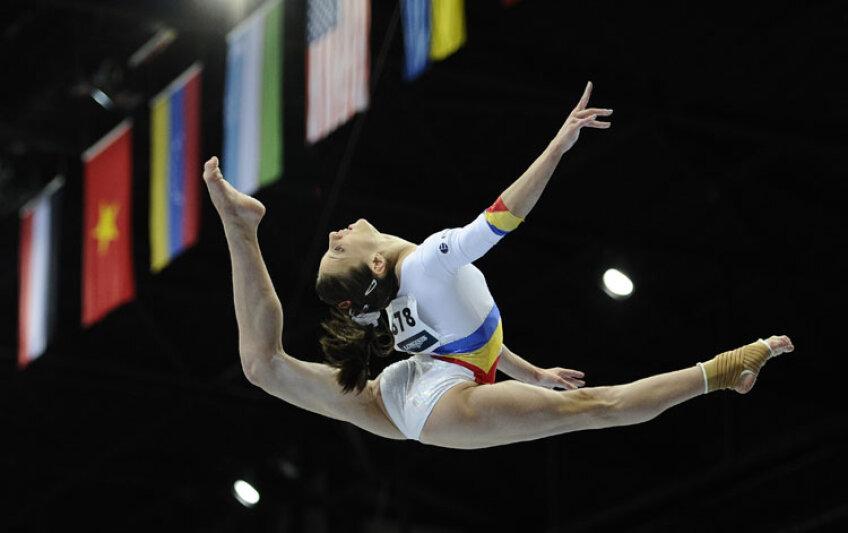 Ana Porgras va încerca să prindă un loc și în finala de la individual compus din 13 octombrie. FOTO Reuters
